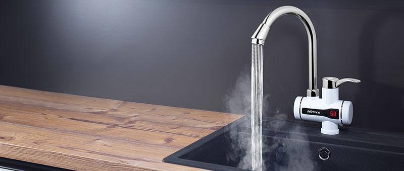 Rubinet Dixhital për ngrohjen e ujit