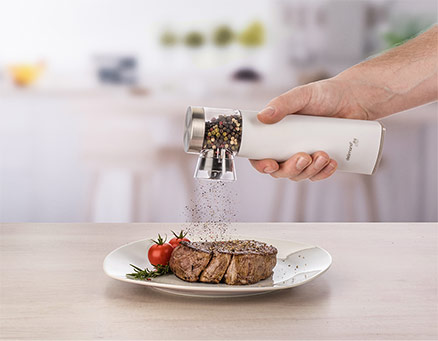 Delimano Joy Automatic Gravity Salt Or Pepper Mill