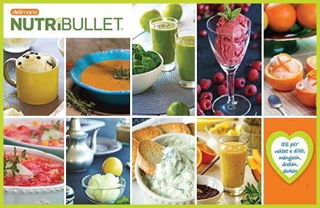 Lëngje të shijshme me Nutribullet